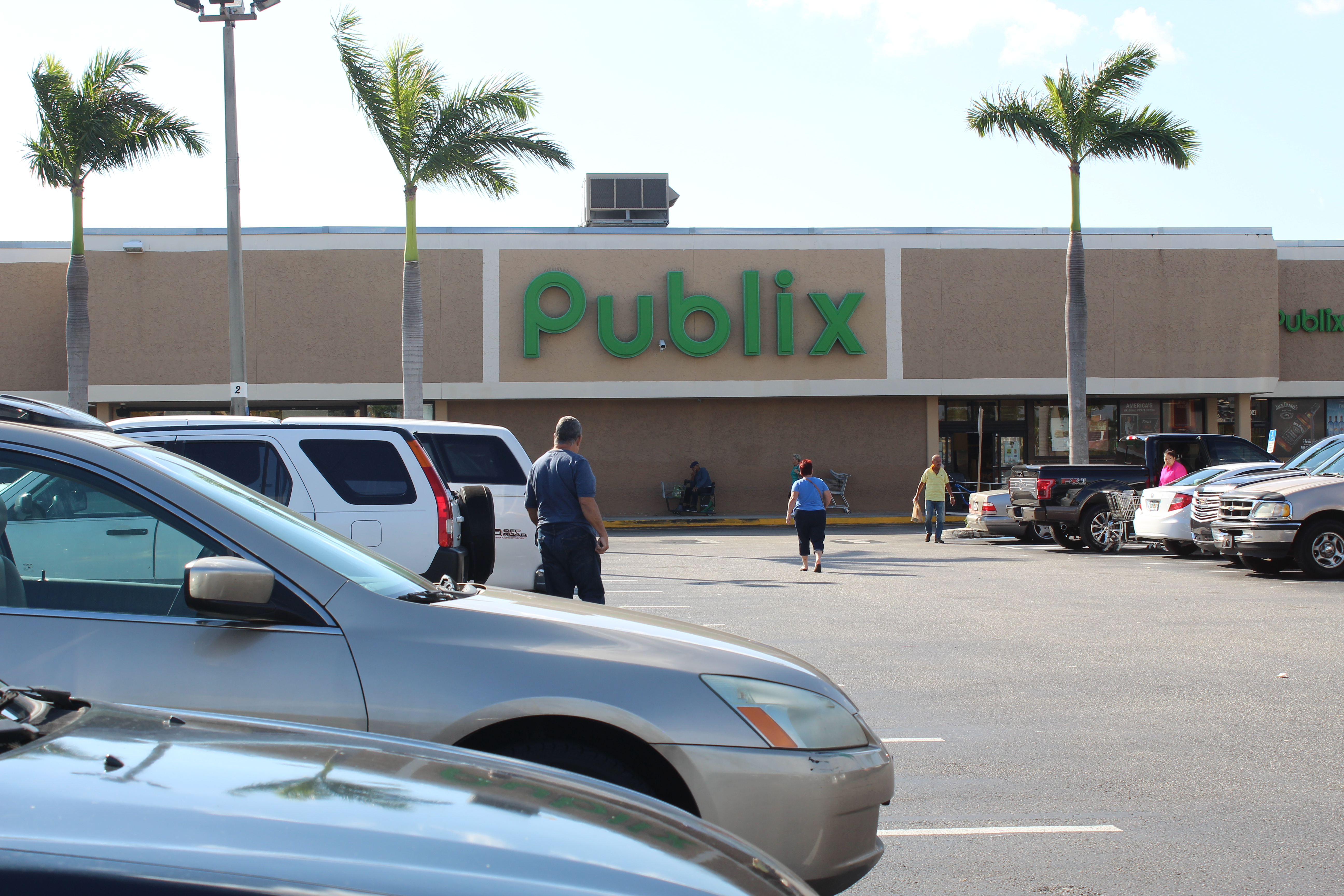 View of Publix on East Hallandale Beach Boulevard